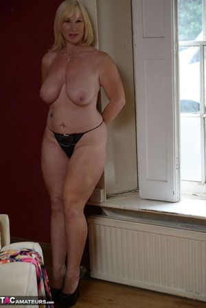 granny and young girl naked